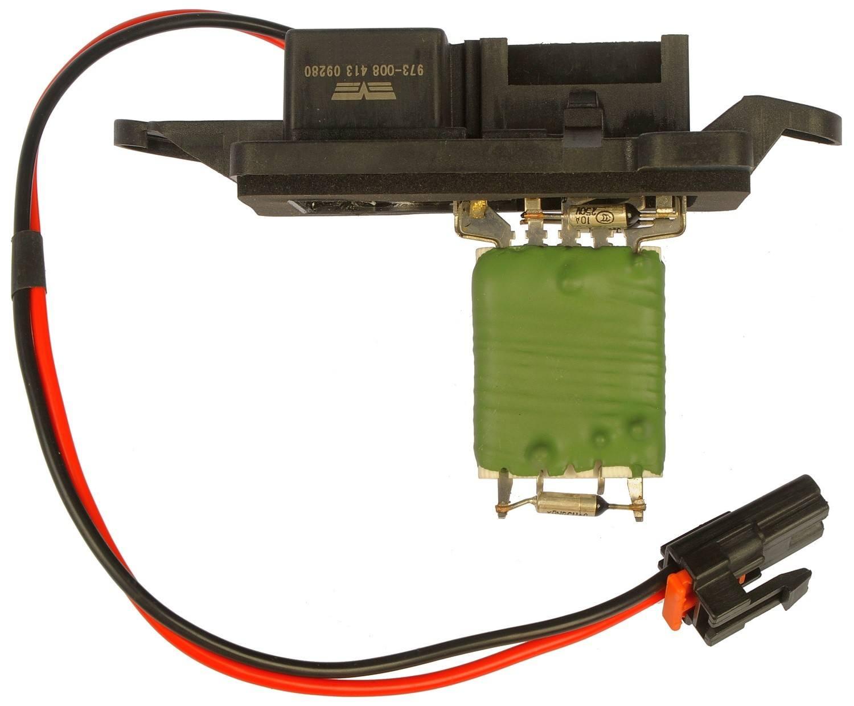 DORMAN - TECHOICE - Hvac Blower Motor Resistor - DTC 973-008