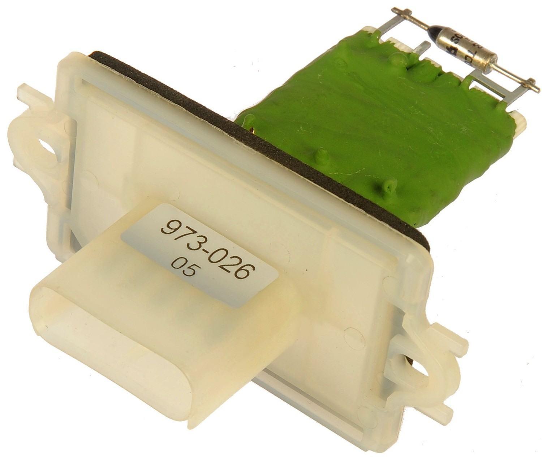 DORMAN - TECHOICE - HVAC Blower Motor Resistor - DTC 973-026