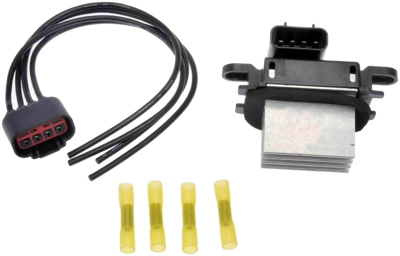DORMAN - TECHOICE - HVAC Blower Motor Resistor Kit - DTC 973-506