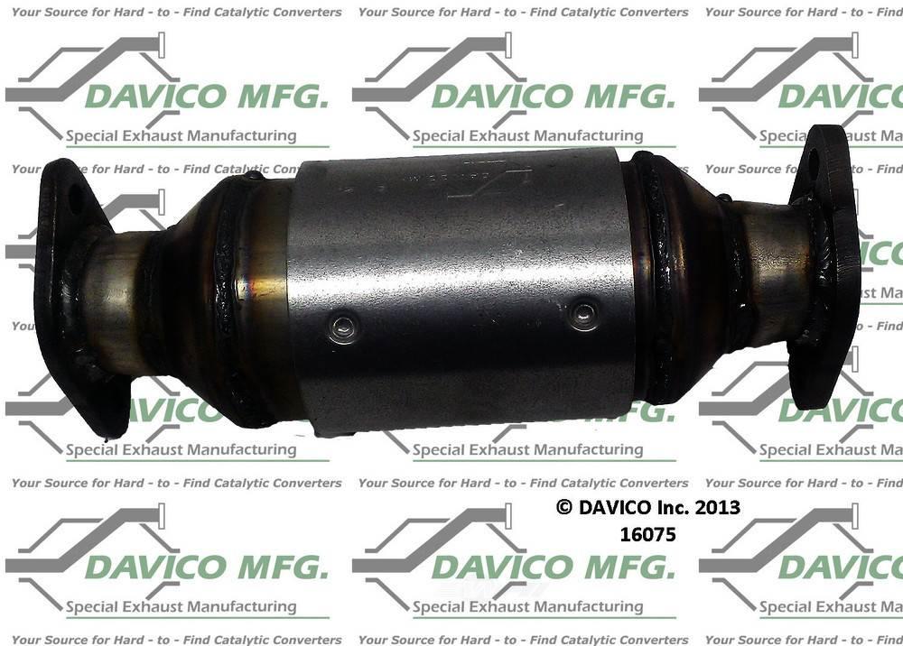 DAVICO MFG EPA - Exact-Fit Catalytic Converter - DVM 16075