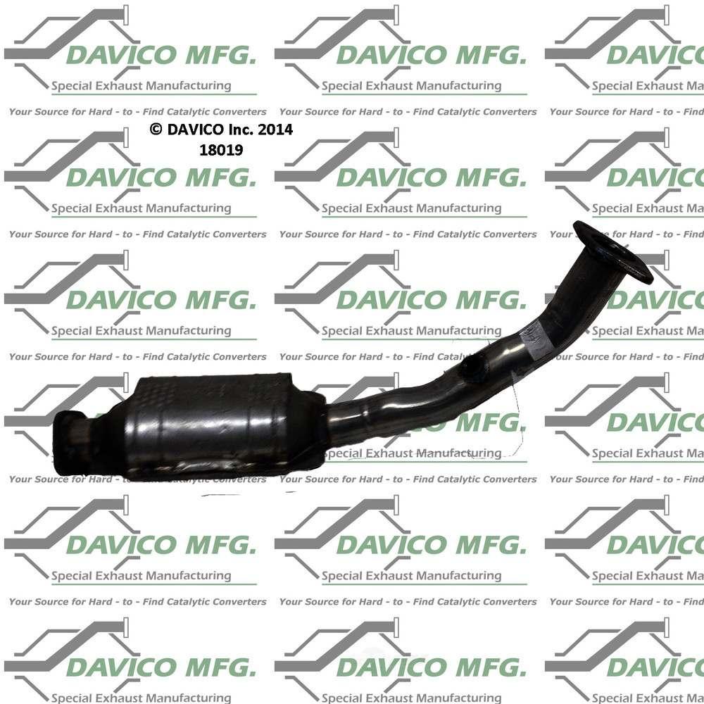 DAVICO MFG EPA - Exact-Fit Catalytic Converter - DVM 18019