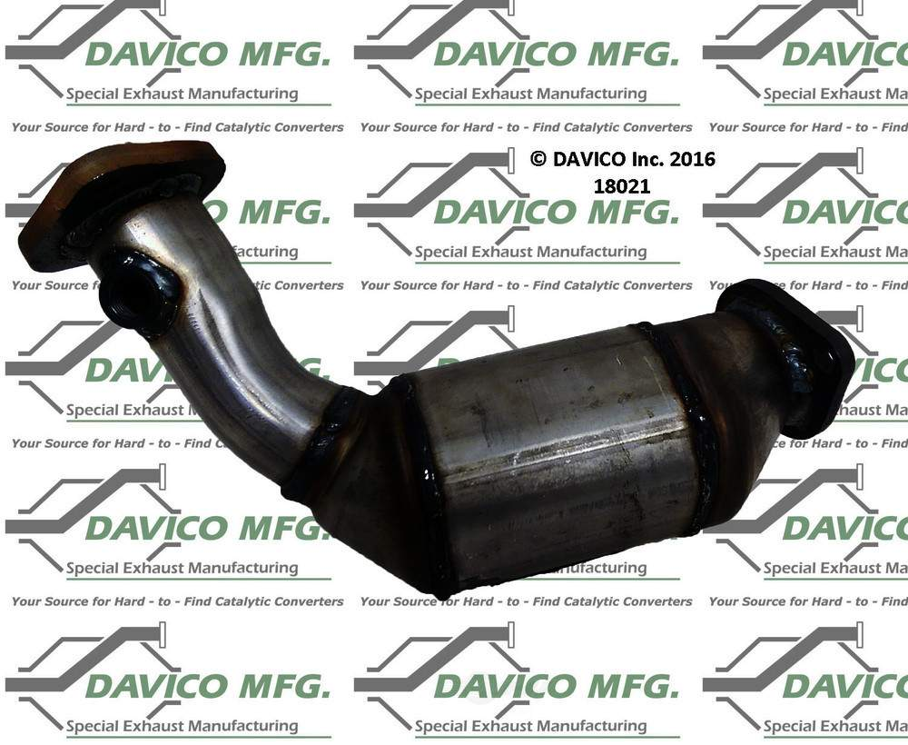 DAVICO MFG EPA - Exact-Fit Catalytic Converter - DVM 18021