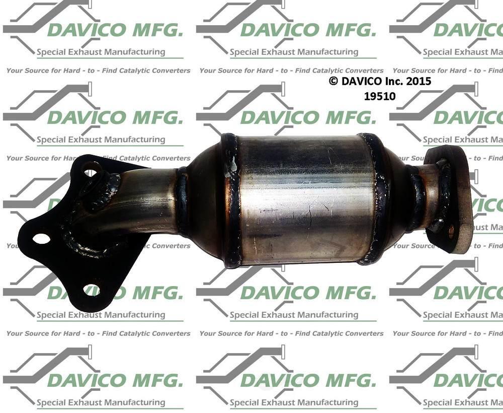 DAVICO MFG EPA - Exact-Fit Catalytic Converter - DVM 19510