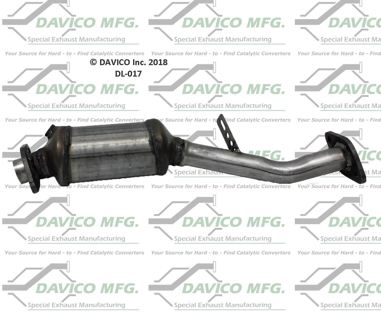 DAVICO MFG EPA - Exact-Fit Catalytic Converter - DVM DL-017