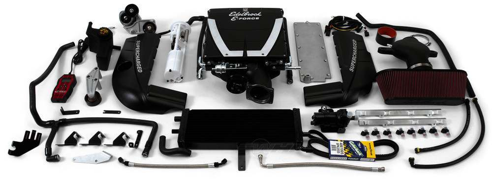 EDELBROCK - E-Force Stage-2 Track Systems Supercharger System - EDB 1591