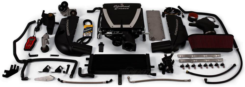 EDELBROCK - E-Force Stage-1 Street Systems Supercharger System - EDB 1593