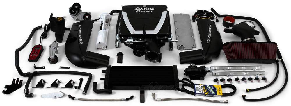 EDELBROCK - E-Force Stage-2 Track Systems Supercharger System - EDB 1594