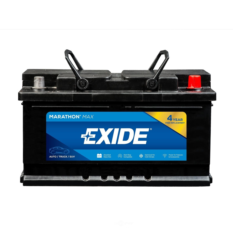 EXIDE BATTERIES - MARATHON MAX - CCA: 760 - EX1 MX-H6/L3/48