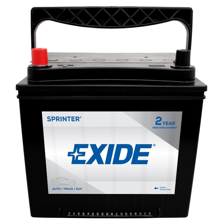 EXIDE BATTERIES - Sprinter - CCA: 550 - EX1 S35