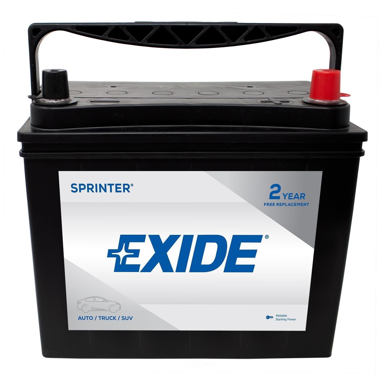 EXIDE BATTERIES - Sprinter - CCA: 450 - EX1 S51