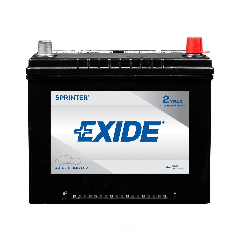 EXIDE BATTERIES - Sprinter - CCA: 650 - EX1 S85