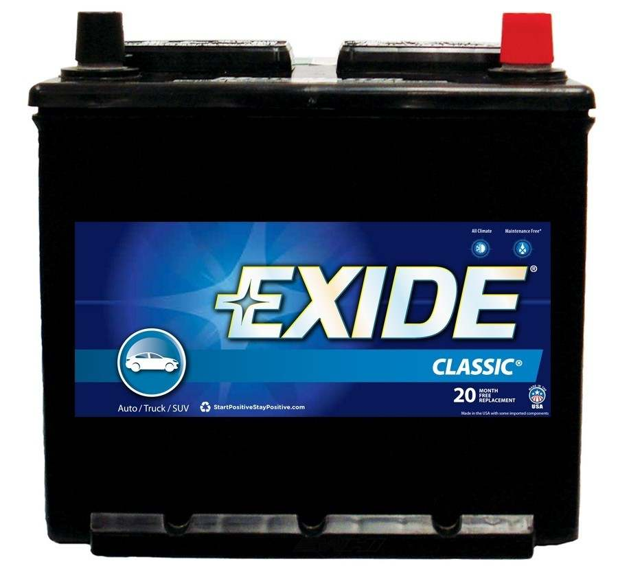 EXIDE BATTERIES OLD - Vehicle Battery - EXB 121RC