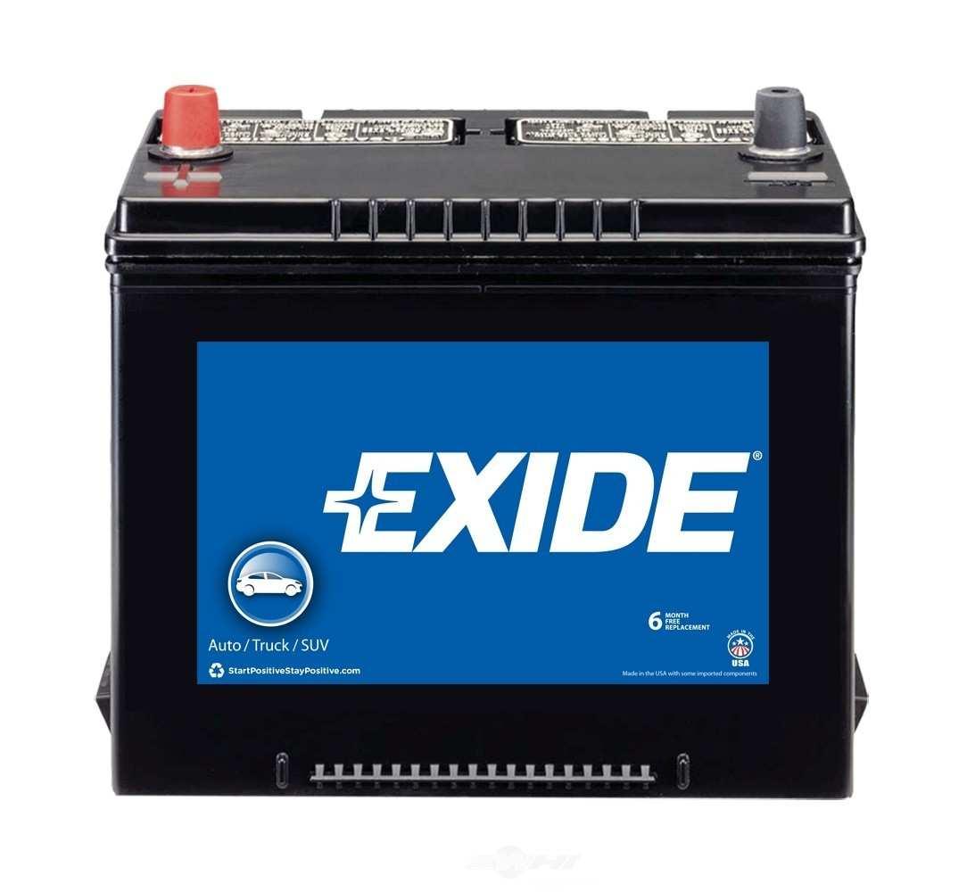 EXIDE BATTERIES OLD - Exide Standard - CCA: 525 Battery - EXB 24