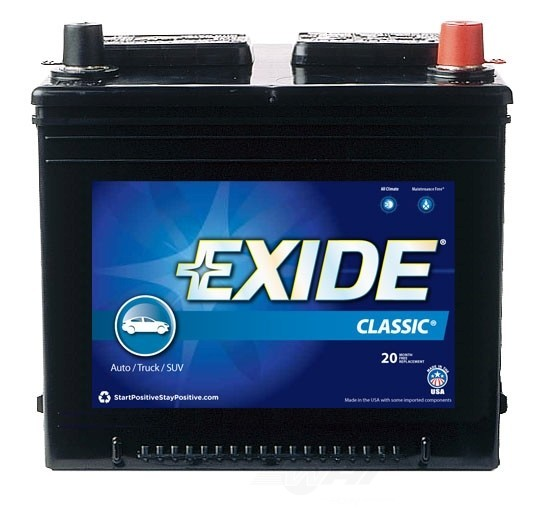 EXIDE BATTERIES OLD - Vehicle Battery - EXB 26RC