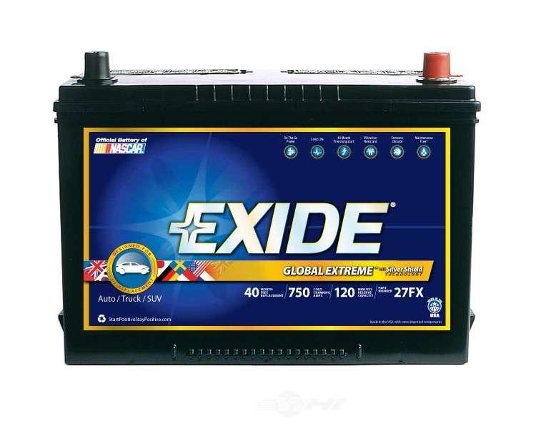 EXIDE BATTERIES OLD - Vehicle Battery - EXB 27FX