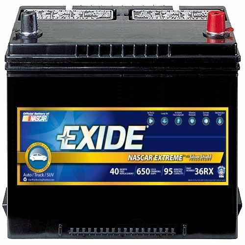 EXIDE BATTERIES OLD - Vehicle Battery - EXB 36RX