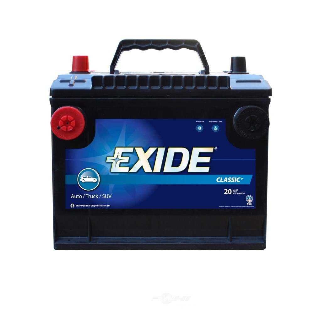 EXIDE BATTERIES OLD - Vehicle Battery - EXB 75DTC