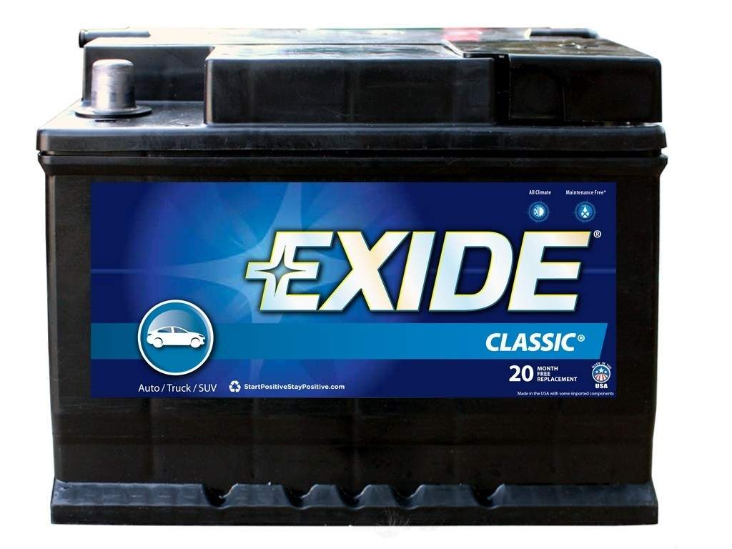 EXIDE BATTERIES OLD - Vehicle Battery - EXB 96RC
