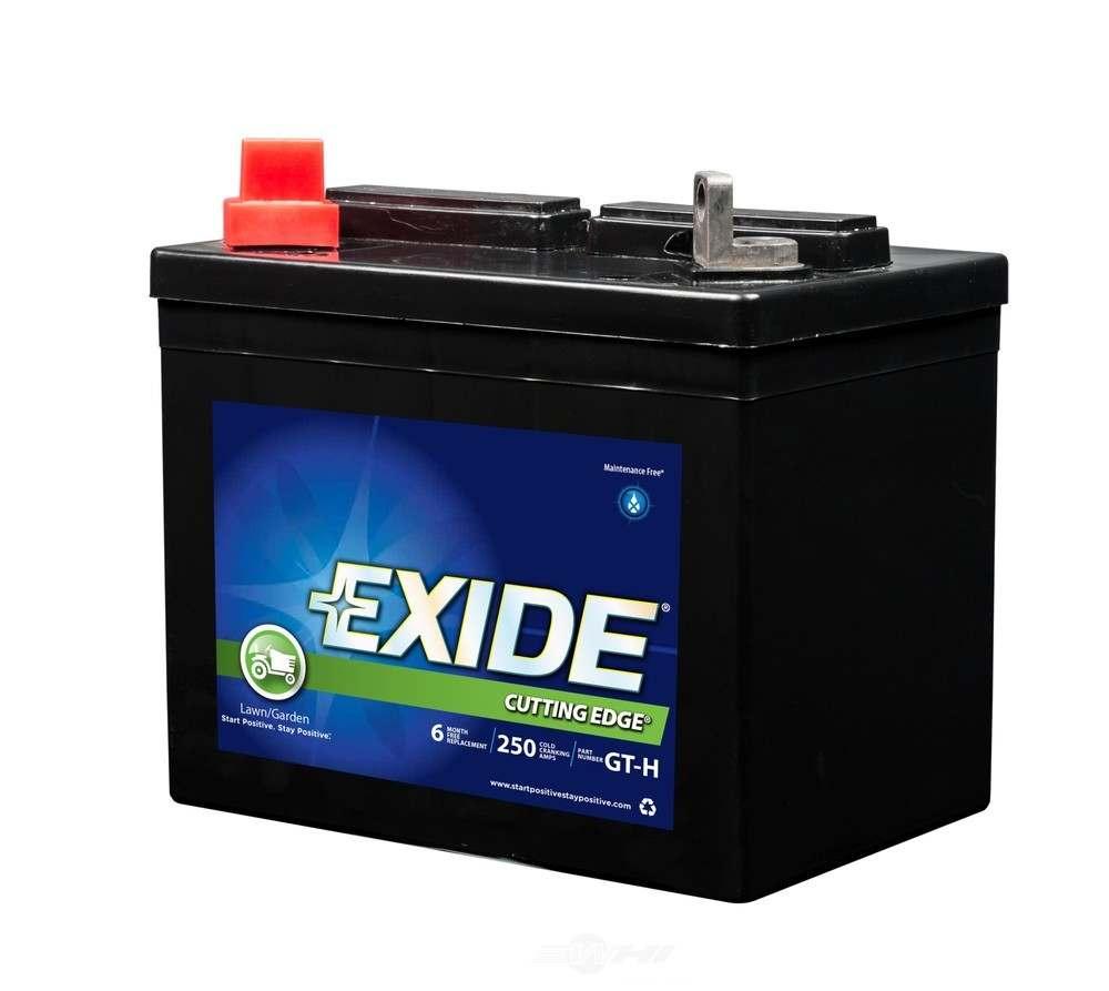 EXIDE BATTERIES - Exide Cutting Edge - CCA: 250 Vehicle Battery - EXB GT-H