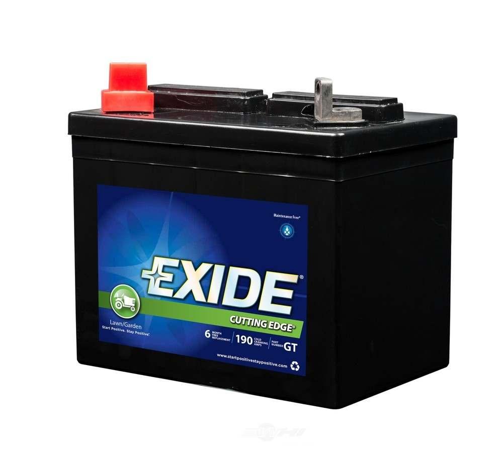 EXIDE BATTERIES - Exide Cutting Edge - CCA: 190 Vehicle Battery - EXB GT