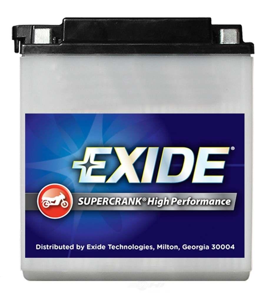 EXIDE BATTERIES - Exide Supercrank High Performance - CCA: 56 Battery - EXB 4L-B