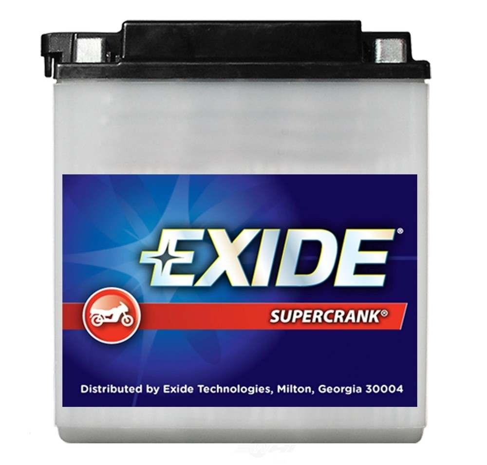 EXIDE BATTERIES - Exide Supercrank Conventional - CCA: 113 Battery - EXB 12N12A-4A-1