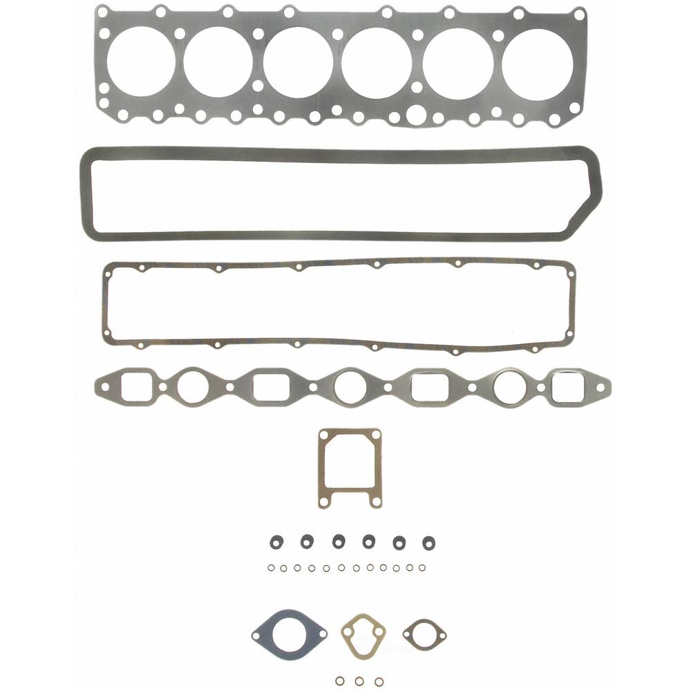 FELPRO - Engine Cylinder Head Gasket Set - FEL HS 7541 CS