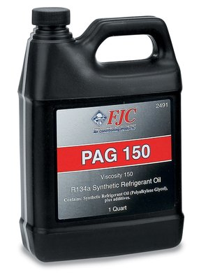 FJC, INC. - Synthetic PAG Oil, Quart, 150 Viscosity, R134a - FJC 2491