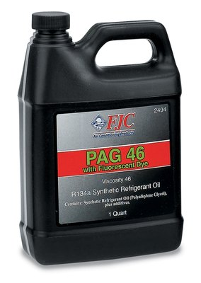 FJC, INC. - Synthetic PAG Oil w/Fluorescent Leak Detection - FJC 2494