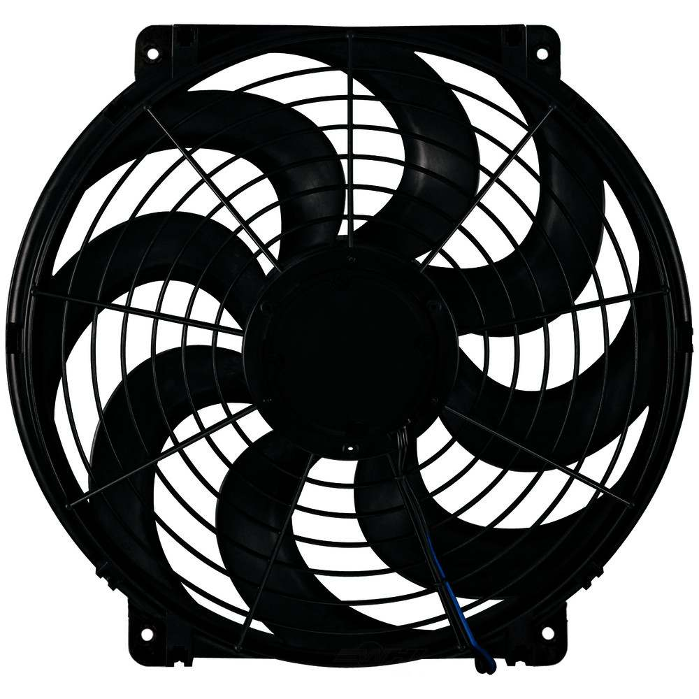 FLEX A LITE - Fan Electric 14^ Single Pusher or Puller S-Blade Universal w/o Controls - FLE 394