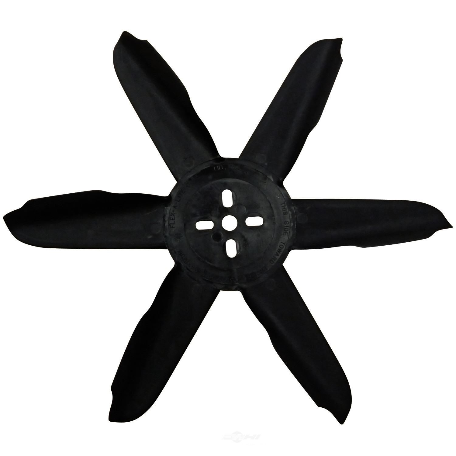 FLEX A LITE - Fan Belt-Driven 18^ One Piece Nylon Std Rotation Fan - FLE 418