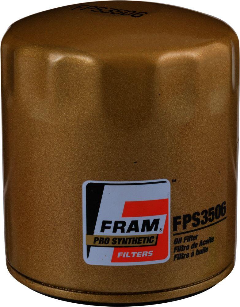 FRAM PRO SYNTHETIC - Spin-On Full Flow Oil Filter - FP3 FPS3506