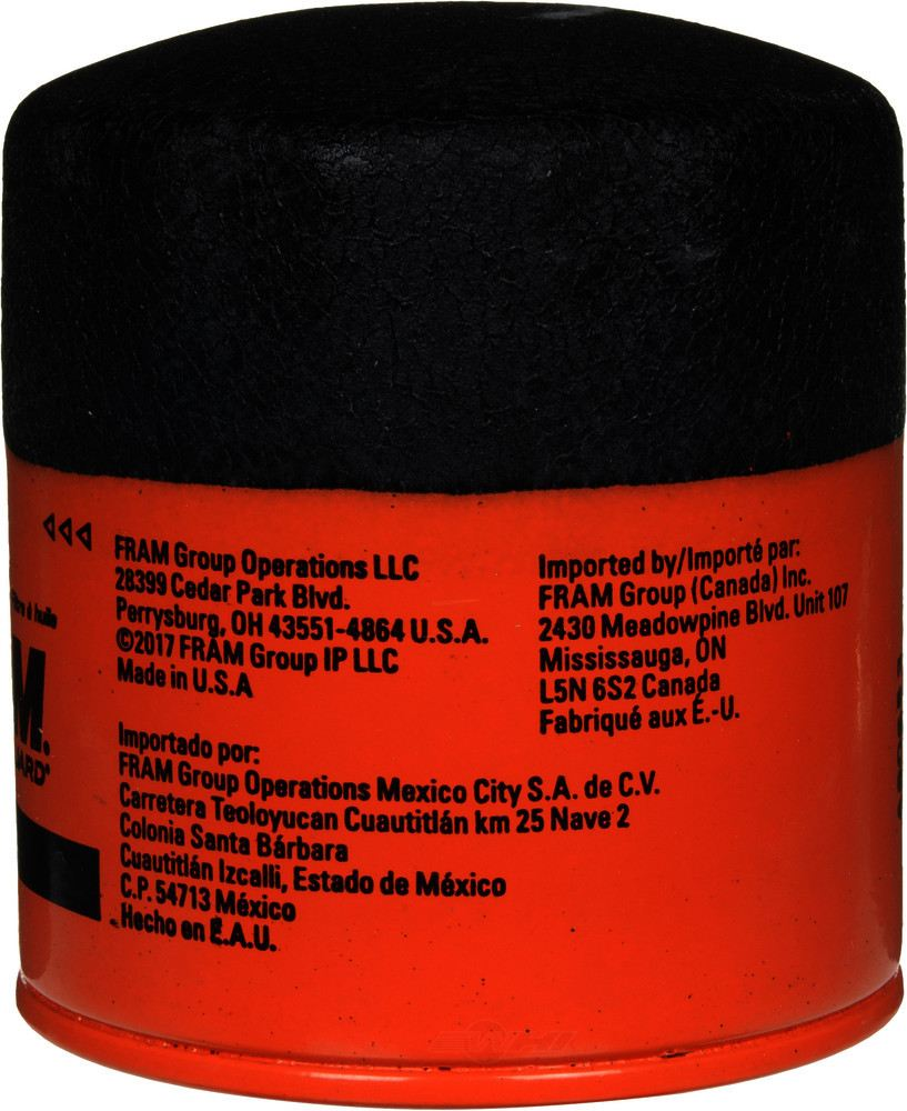 FRAM - Extra Guard Engine Oil Filter - FRA PH3593A