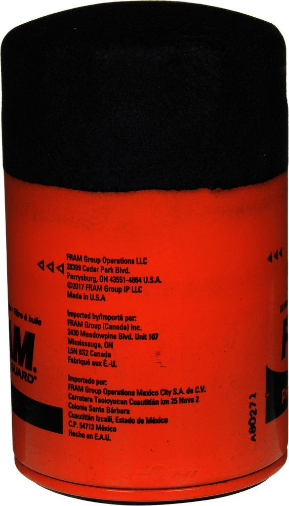 FRAM - Extra Guard Engine Oil Filter - FRA PH3980