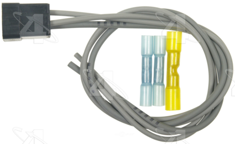 FOUR SEASONS - HVAC Blower Motor Resistor Harness (Rear) - FSE 37255