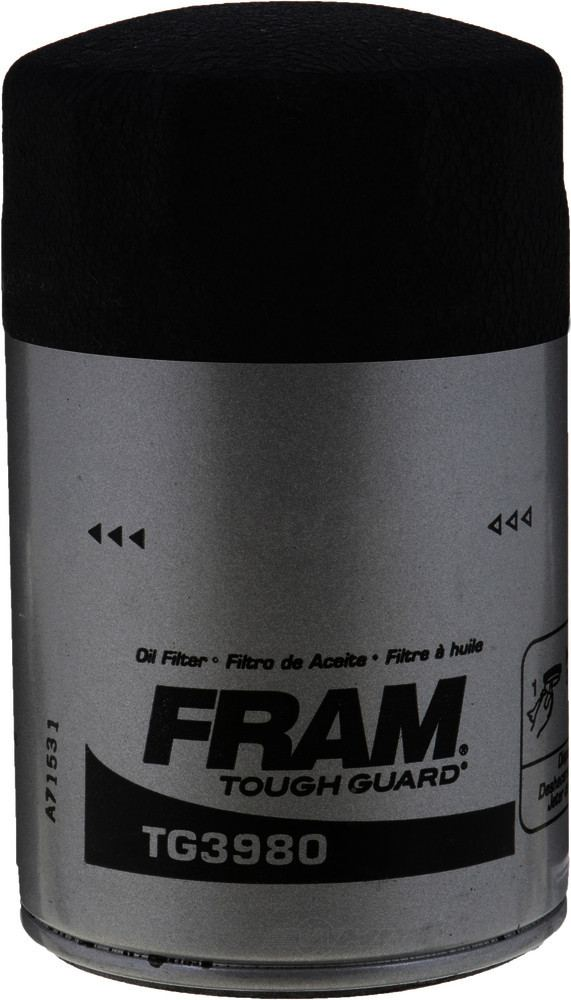 FRAM TOUGH GUARD FILTERS - Tough Guard Engine Oil Filter - FTG TG3980