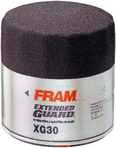 FRAM EXTENDED GUARD FILTERS - Spin-On Full Flow Oil Filter - FXG XG30