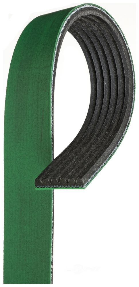 GATES - Fleetrunner Heavy Duty Micro-V Belt (Fan, Alternator, Power Steering and Air Conditioning) - GAT K061195HD