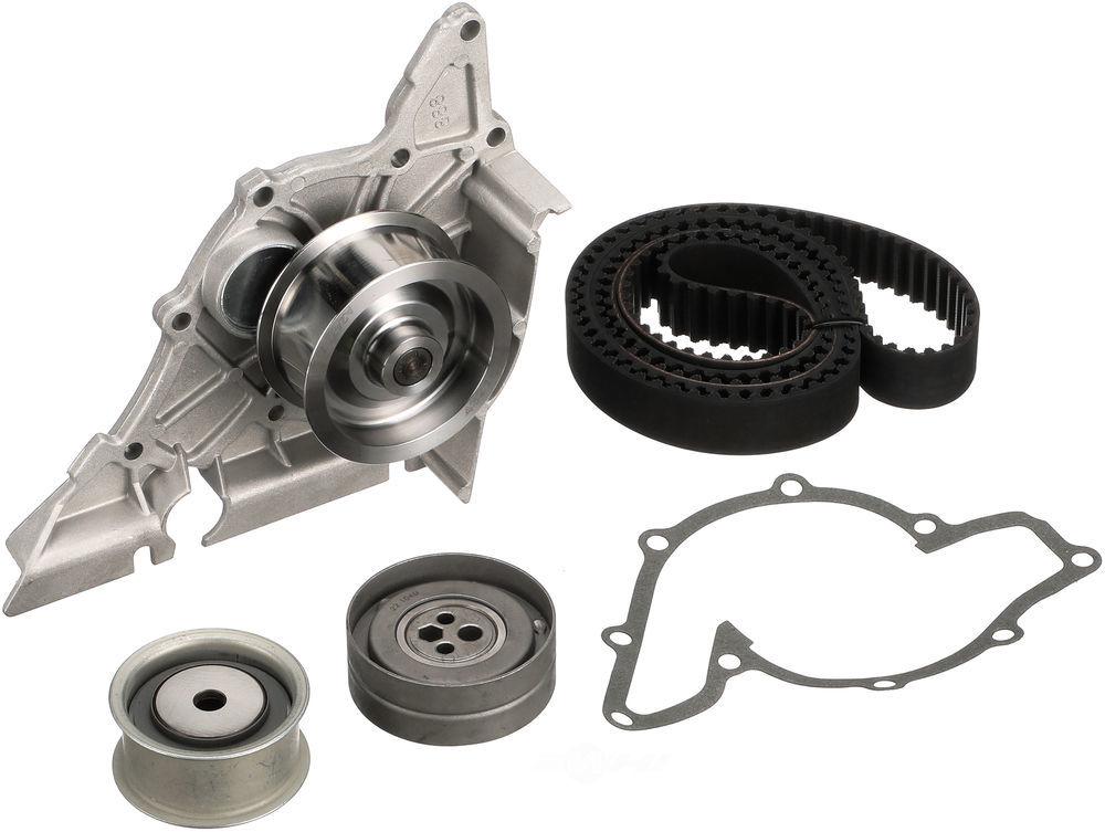 GATES - PowerGrip Premium OE Timing Belt Component Kit W/Water Pump - GAT TCKWP218A