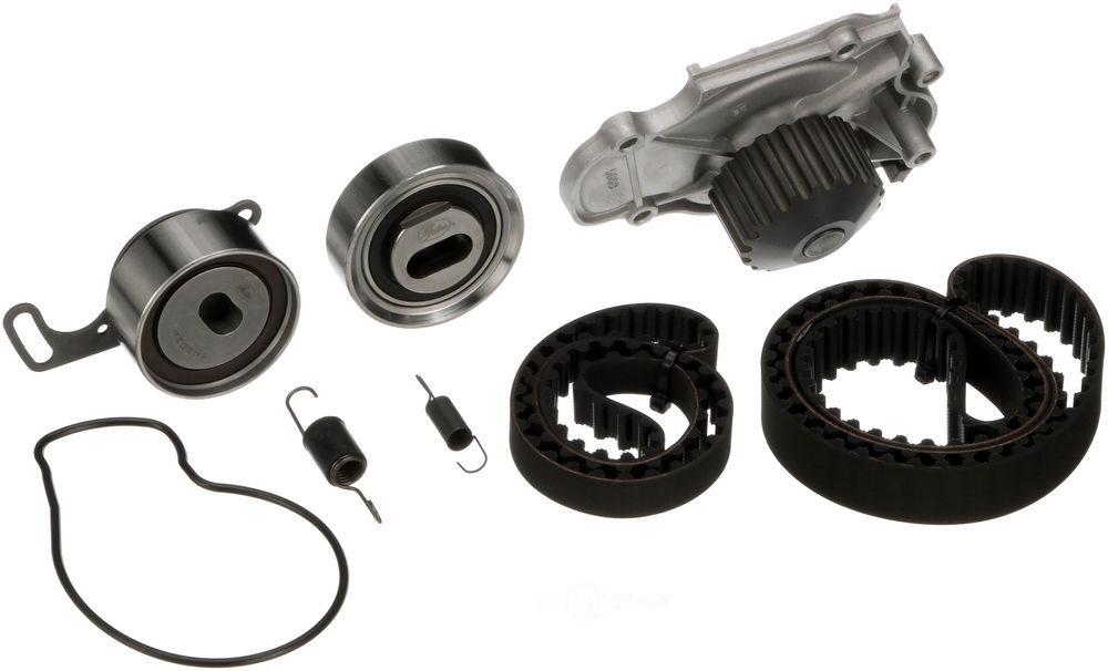 GATES - PowerGrip Premium OE Timing Belt Component Kit W/Water Pump - GAT TCKWP244