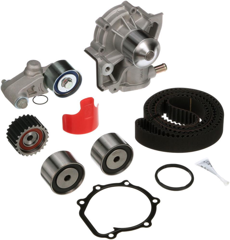 GATES - PowerGrip Premium OE Timing Belt Component Kit W/Water Pump - GAT TCKWP277A