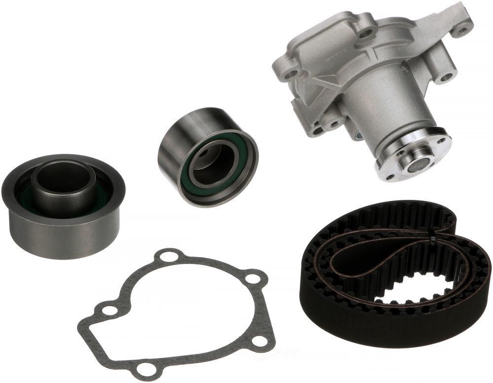 GATES - PowerGrip Premium OE Timing Belt Component Kit W/Water Pump - GAT TCKWP284