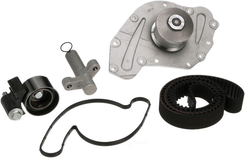 GATES - PowerGrip Premium OE Timing Belt Component Kit W/Water Pump - GAT TCKWP295D