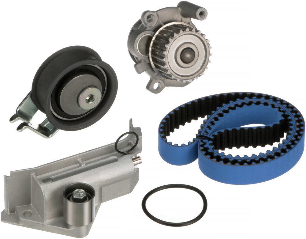 GATES - High Performance Timing Belt Component Kit w/Water Pump - GAT TCKWP306MRB