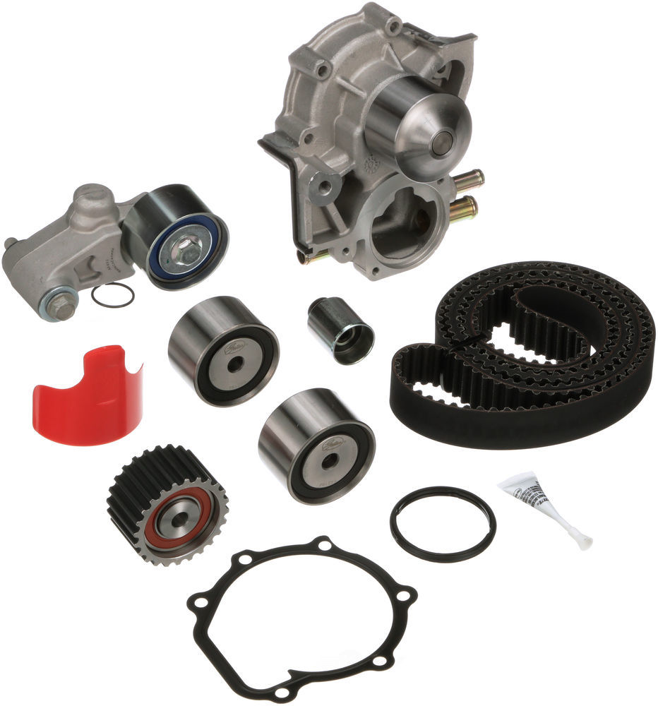 GATES - PowerGrip Premium OE Timing Belt Component Kit W/Water Pump - GAT TCKWP328A