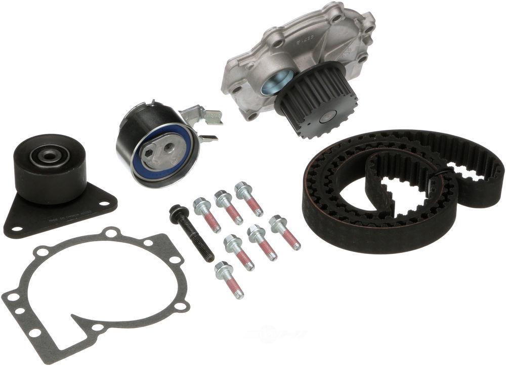 GATES - PowerGrip Premium OE Timing Belt Component Kit W/Water Pump - GAT TCKWP331B