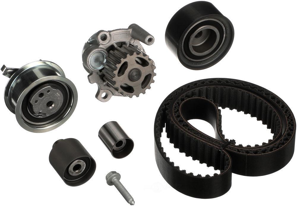 GATES - PowerGrip Premium OE Timing Belt Component Kit W/Water Pump - GAT TCKWP342M