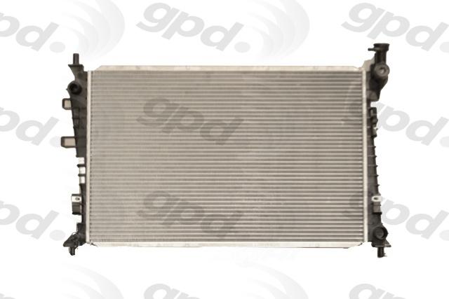 GLOBAL PARTS - Radiator - GBP 13087C