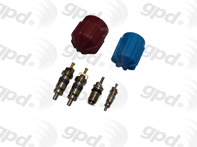 GLOBAL PARTS - A/c System Valve Core & Cap Kit - GBP 1311574