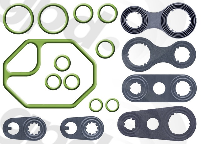 GLOBAL PARTS - A/c System O-ring & Gasket Kit - GBP 1321248